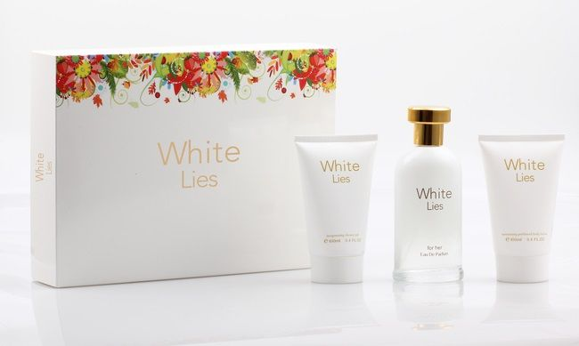 White Lies Pour Femme FP6092 - 3 PCS Gift Set 100ml